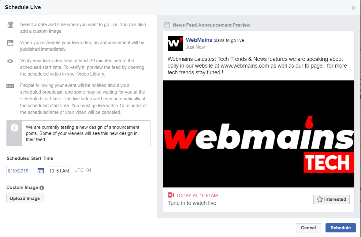 Webmains Facebook Youtube Netflix Video Ads  %site_name, %title