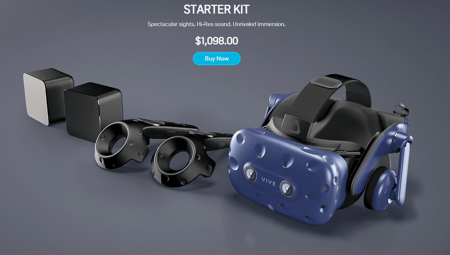 Webmains Save $230 with the Vive Pro Starter Kit and Accessory Bundle  %site_name, %title